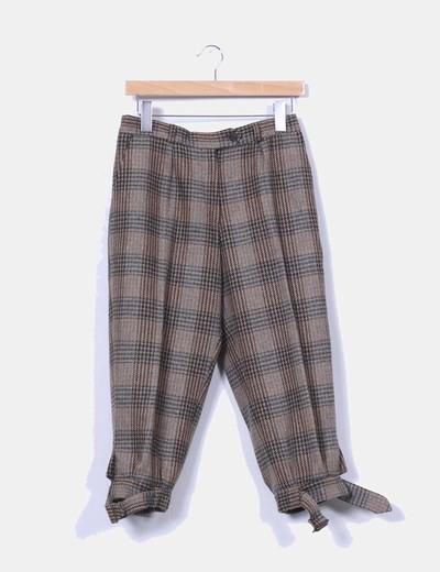 Pantalón lana bombacho pirata NoName