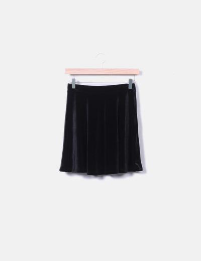 d78b85116 Melville Mini falda negra terciopelo (descuento 49%) - Micolet