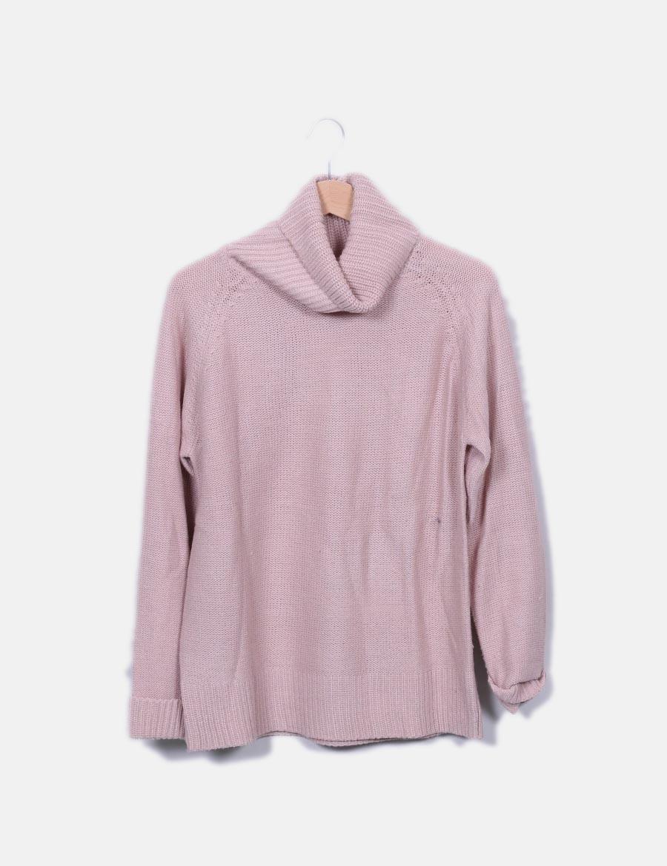 Tops rosa Wear cuello vuelto Jersey punto mujer online Easy 4Cw7qnY ... b1d54c02534b