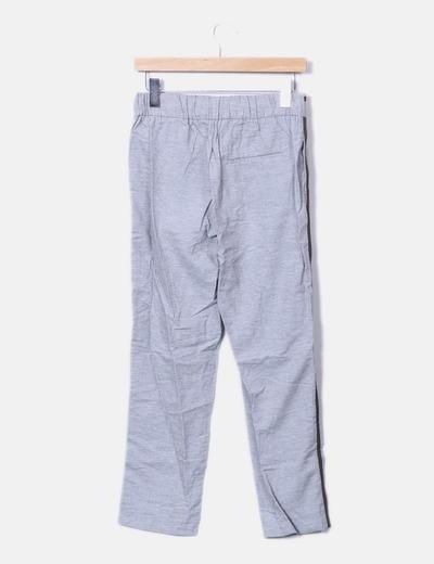 a1ecfba54746 Zara Pantalons gris de jogging bande latérale (réduction 76%) - Micolet