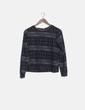 Suéter estampado étnico manga larga H&M