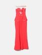Vestido Versace seda rojo palabra de honor H&M