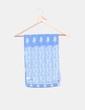 Pañuelo azul estampado Antonio Miró