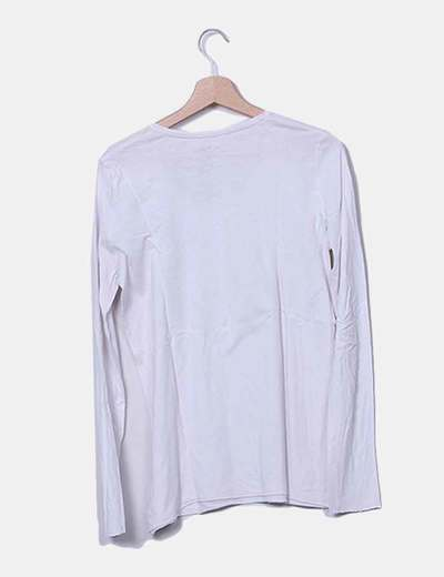 290fb3117 eseOese Camiseta blanca lisa (descuento 88%) - Micolet