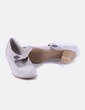 Zapato gris troquelado Graceland