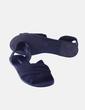 Sandalia negra texturizada H&M