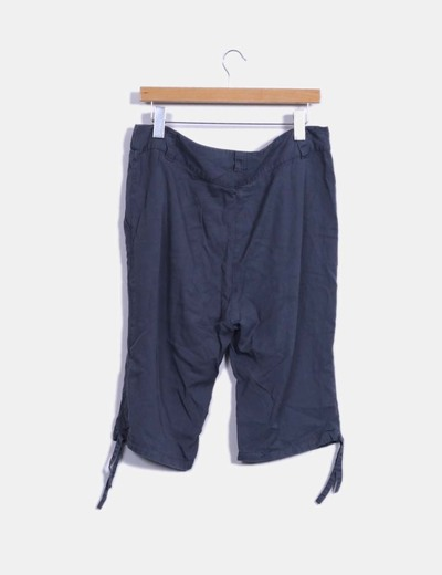 Pantalon harem pirata gris marengo