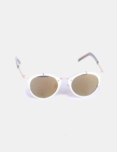 NoName Gafas de sol montura blanca vintage (descuento 81%) - Micolet