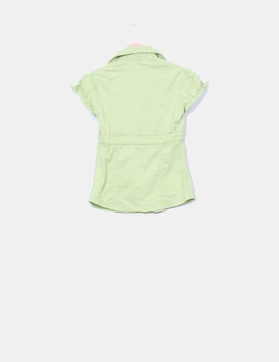 Camisa verde lima
