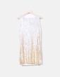 Vestido paillettes escote capa NoName