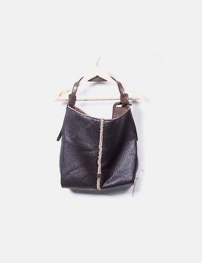 Maxi bolso marrón