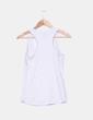 Camiseta cruda combinada Bershka