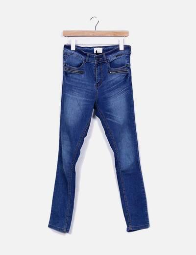 Jeans azul escuro Nümph