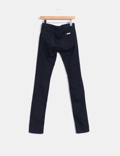 Jeggings denim skinny negro