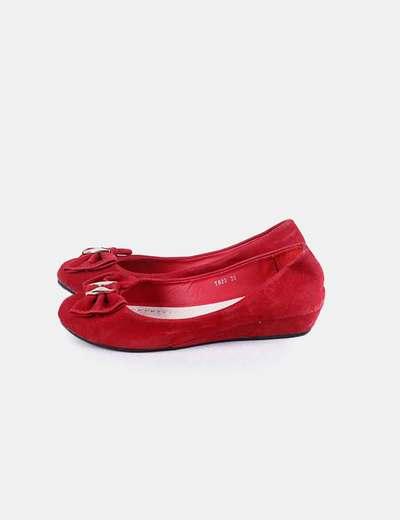 Bailarina roja antelina Jennika
