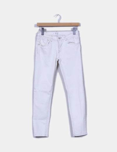 Jeans pitillos crudos Mango