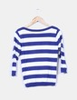 Suéter de rayas azul y blancas manga frances Atmosphere