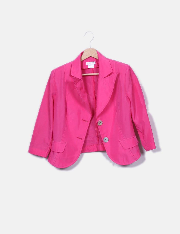 19b02286379 rosa online de baratos Abrigos Chaquetas satén Chaqueta y Rosas Rojas Mujer  vx5qwB4 ...