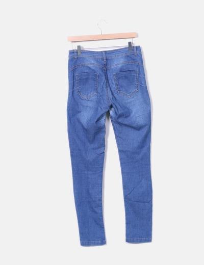 Jeans elasticos azules