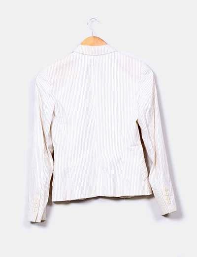 Traje compuesto por blazer y pantalon de raya diplomatica