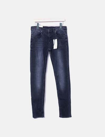 Jeans in denim grigio slim fit Zara