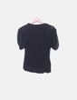 Schwarzes, kombiniertes Gaze-T-Shirt Fornarina
