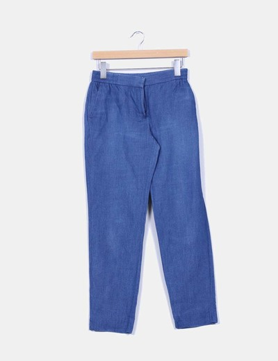 Pantalón denim Massimo Dutti