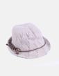Sombrero de punto beige Sfera
