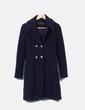 Abrigo largo botones Zara
