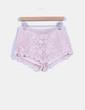 Short rosa palo de crochet H&M