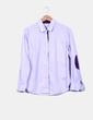 Camisa morada rayas Pedro del Hierro