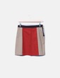 Mini falda tricolor Made in Italy