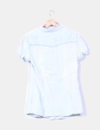 Blusa denim clara