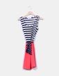 Vestido lady combinado tricolor Suiteblanco
