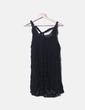 Vestido negro de encaje Yumi