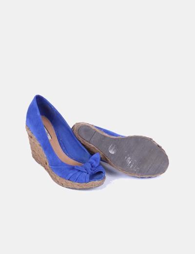 Sandalia cuna azul klein