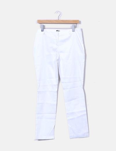 Pantalon blanc Cerezas