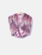Bolero plumas rosas Musgo