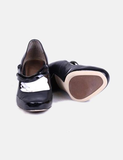 Heels Zapatos Heels Negros Kitten Vintage Zapatos Kitten Vintage Negros 8n0mNvOw