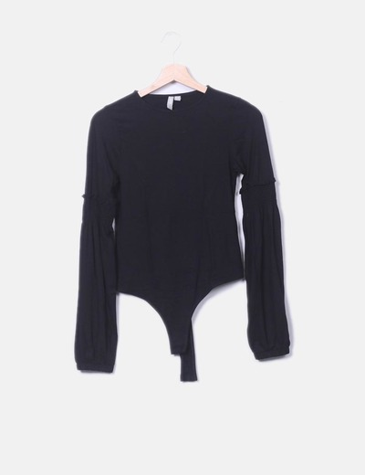 Black body with long sleeve Asos