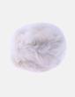 Gorro pelo sintético blanco MOA