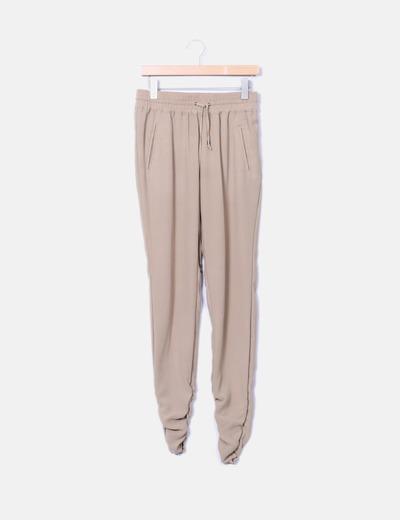Pantalon bajo fruncido Silvian Heach