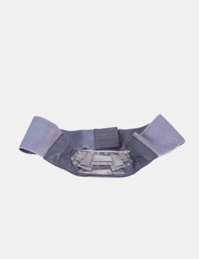 Fajín gris combinado con tachas NoName