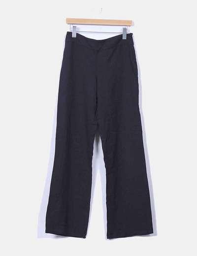 Pantalón sarga negro Mango