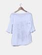Blusa blanca estampada NoName