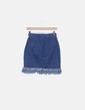 Mini falda denim desflecadaç Haoduoyi