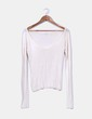 Top tricot color crudo Massimo Dutti