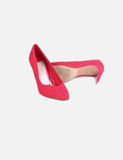 Micolet Rojos Tacón Con 56 Stradivarius Zapatos descuento Yq6Y5Fw