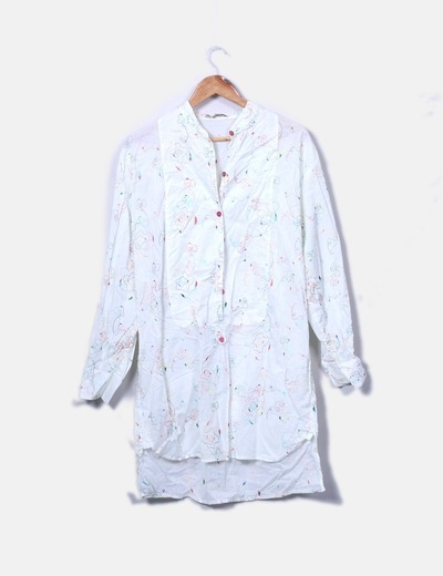 Vestido camisero estampado NoName