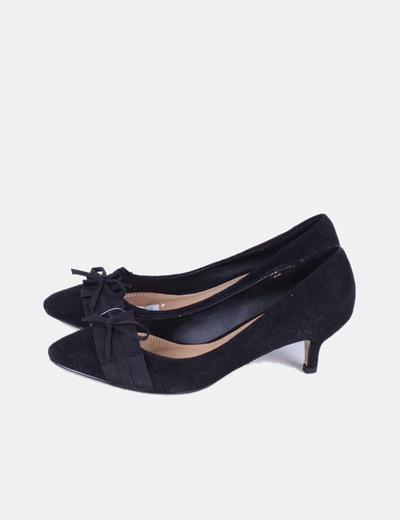 a26350ca Zapato Micolet descuento 63 negro Marypaz terciopelo tacón efecto ZwSpRpq
